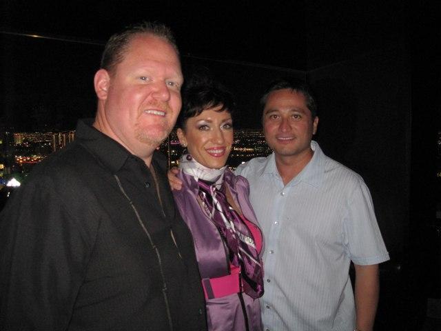 Scott, Milena, & Peter at Mix Lounge