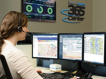 PACCAR Parts' 365 Center for Comprehensive Customer Support