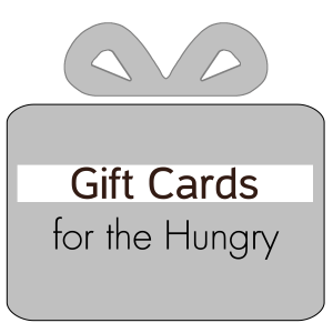 Gift Cards for the Hungry