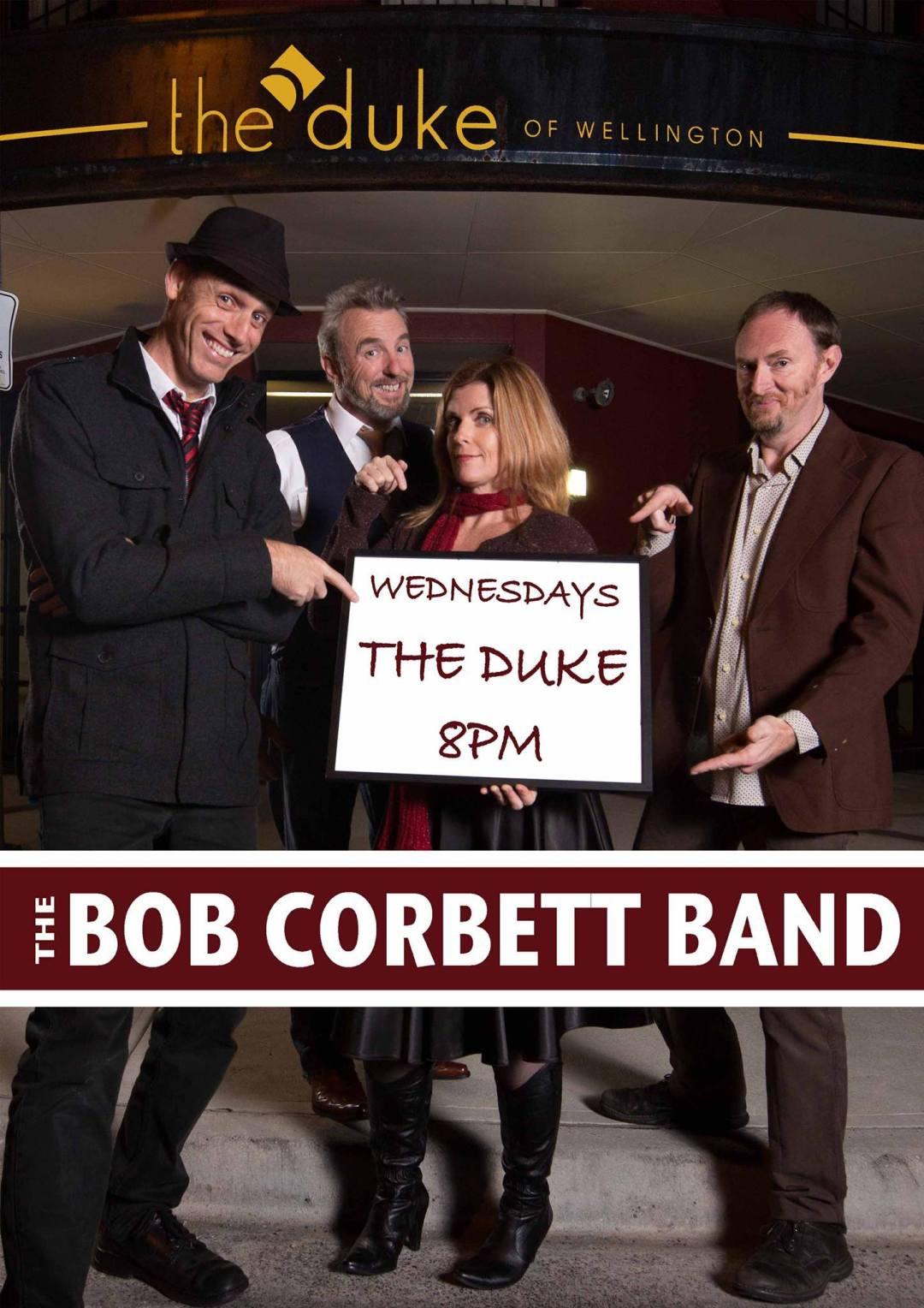 Peter Bower - Bob Corbett Band Duke Shows