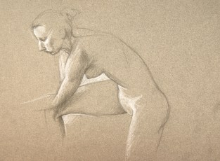 Pencil, chalk
