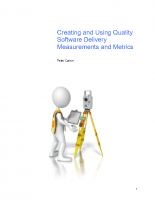 Creating and Using Quality Metrics