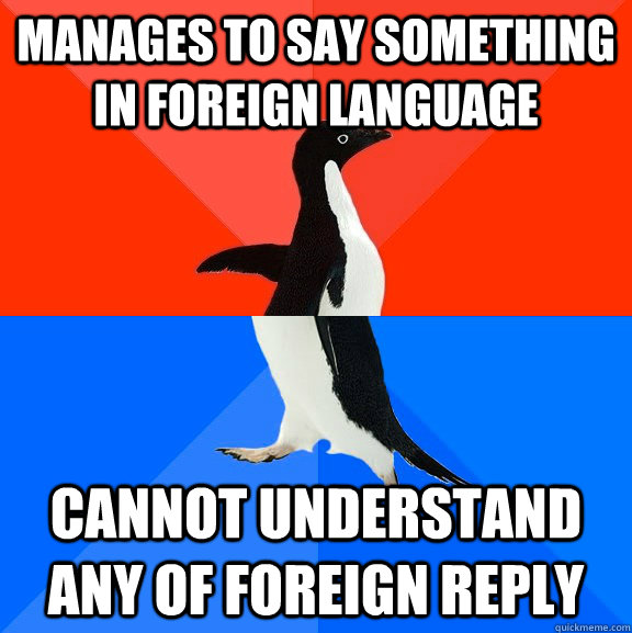 foreign language problems