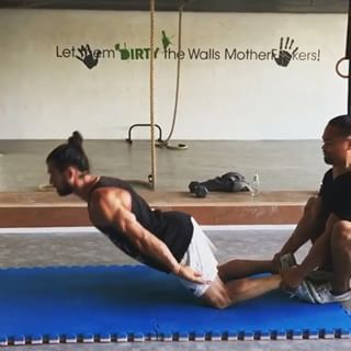 Posterior Chain work with the help of a friend