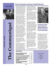 The Communiqué - Customer Affinity Newsletter