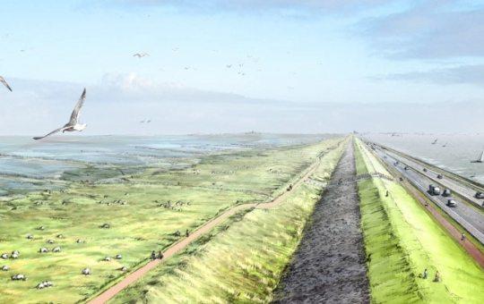 Waddenwerken – Afsluitdijk
