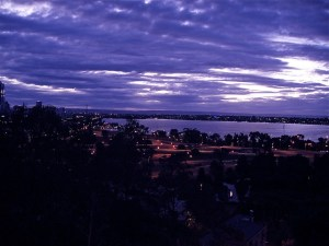View of the Swan River from Jacob's Ladder.