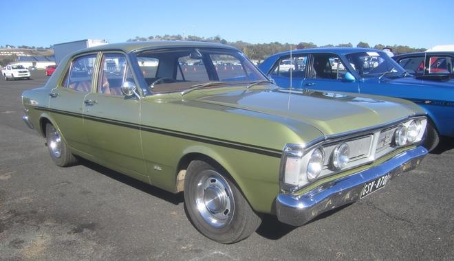 A 1970 XY Falcon