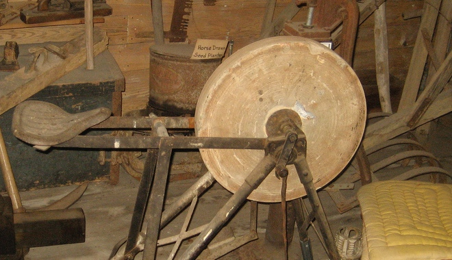 A grindstone