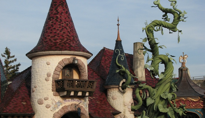 Disneyland Paris Jack and the Beanstalk castle