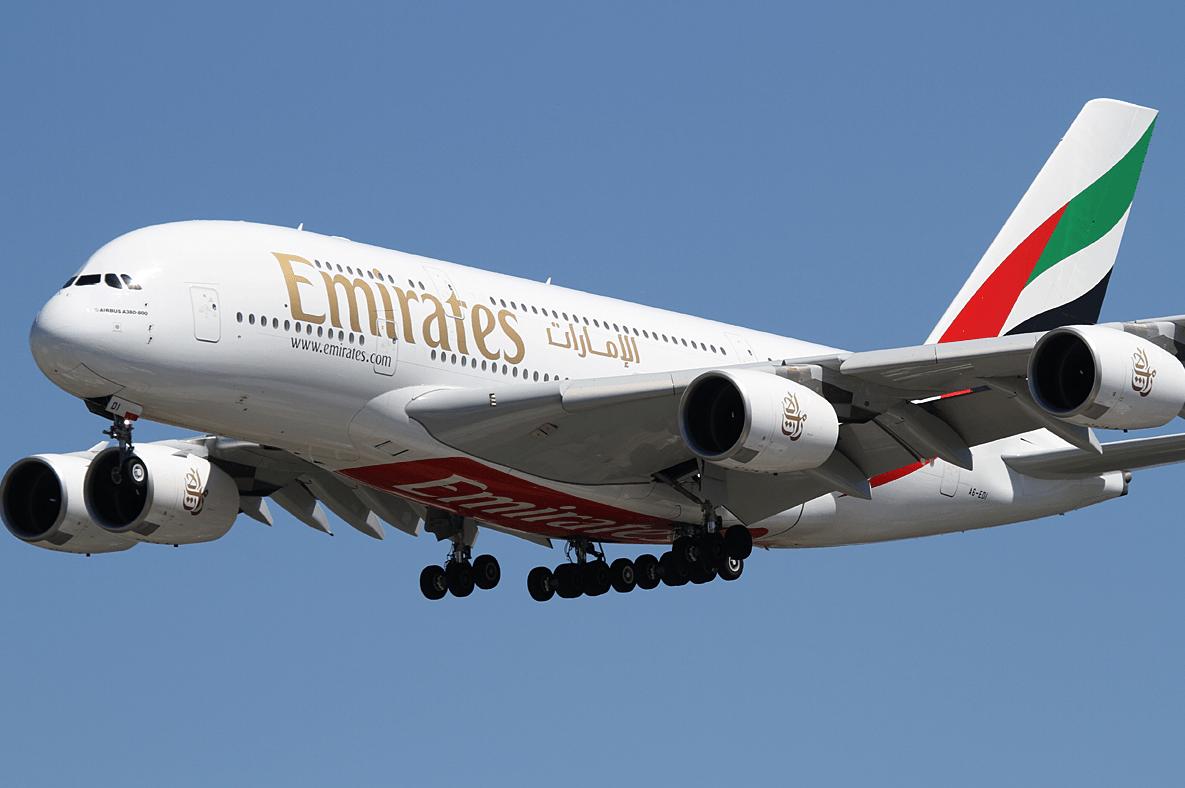 A380 EK cash miles