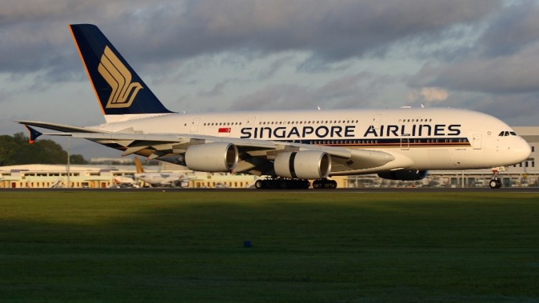 SIA - Singapore Airlines - A380