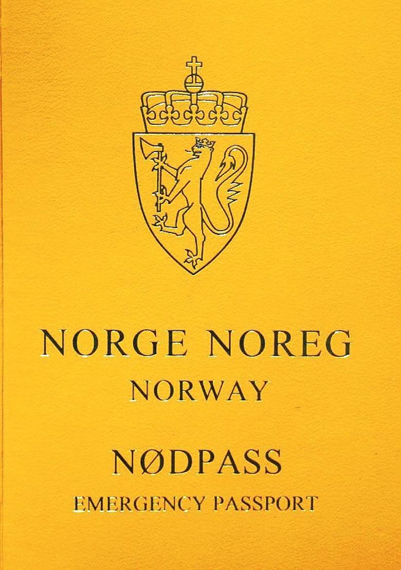 nødpass - pass