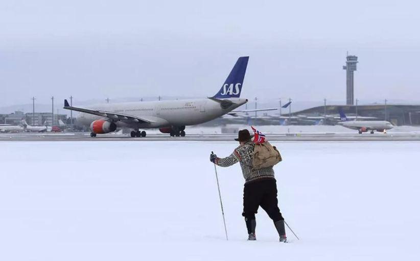 Snart vinterferie – det blir travelt ved Hovedflyplassen