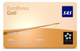 SAS lanserer en løsning for innrapportering av bonuspoeng