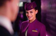 Qatar airways med en liten teaser på sin Nye Business Class