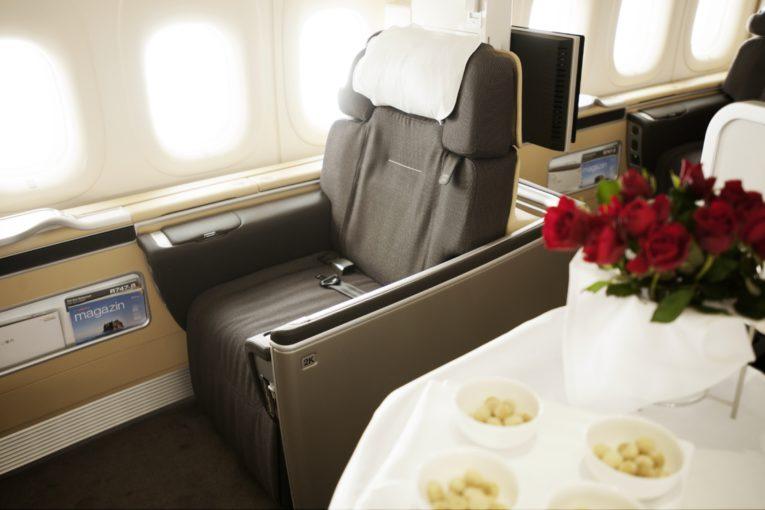 First class hos Lufthansa