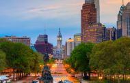 Første Icelandair fly til Philadelphia