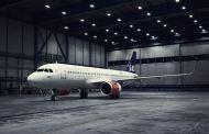 Premiere for SAS nye Airbus A320neo med mindre klimapåvirkning, og ny kabin på kort- og mellomdistanse