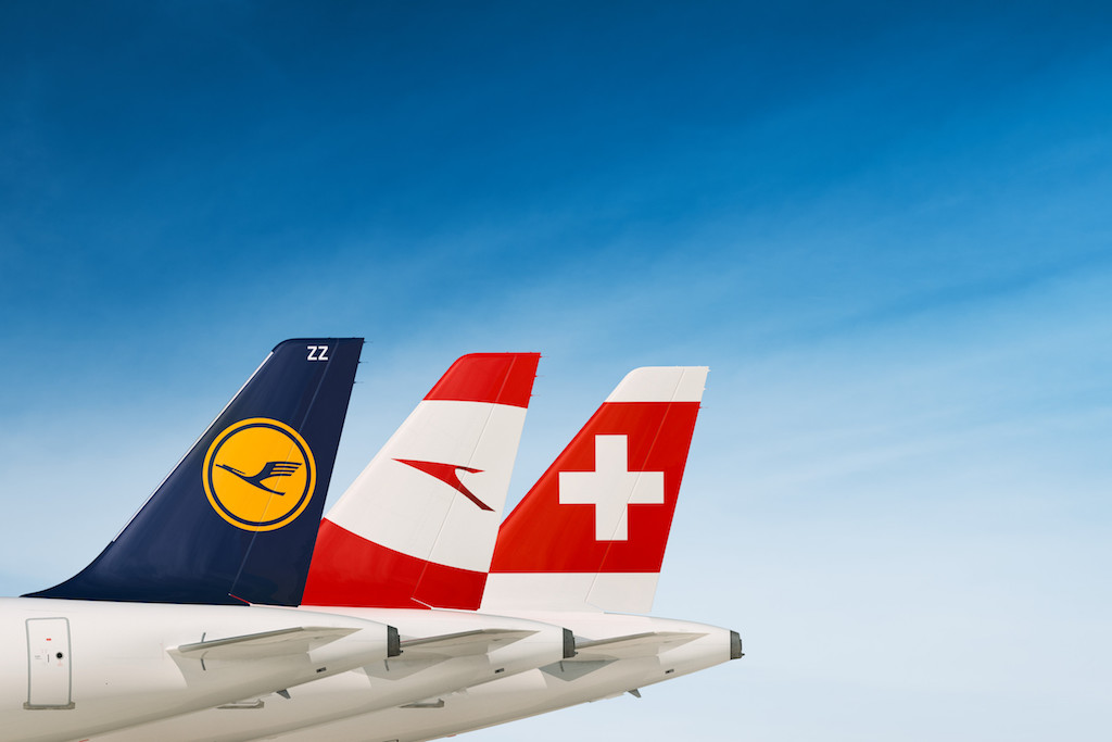Lufthansa gruppen er