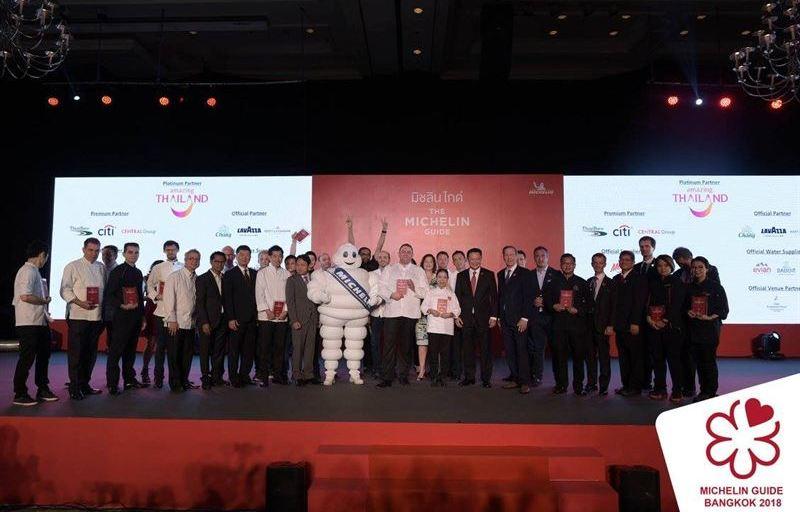 Stor begeistring for Bangkok Michelin Guide