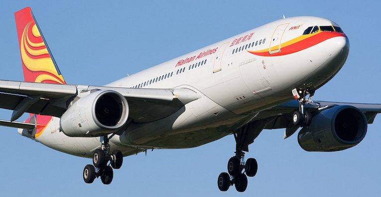 hainan airlines Oslo Beijing ruten Hainan Airlines reduserer kapasiteten