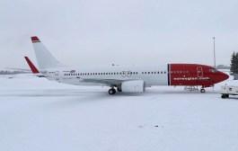 Norwegians siste fabrikknye Boeing 737-800