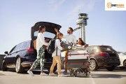 Doble CashPoints på parkering på Oslo Lufthavn