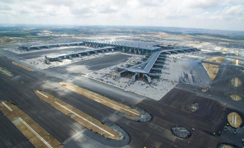 Istanbuls nye gigantflyplass