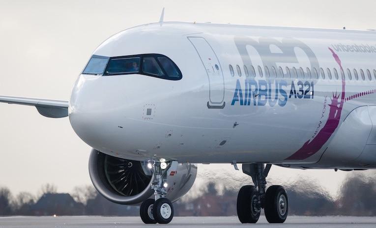 Airbus forhandler med
