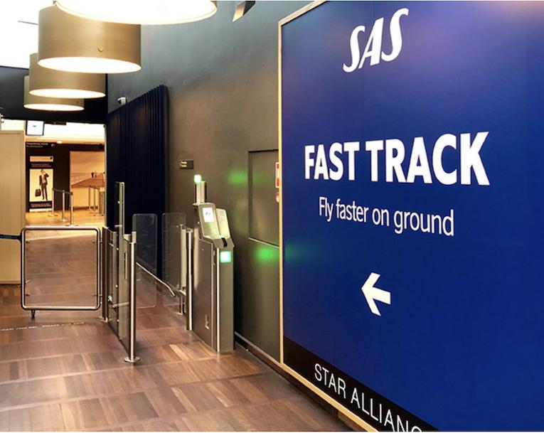 SAS Fast track I Tromsø
