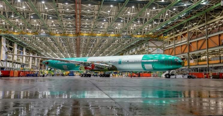 Boeing 777X lansering