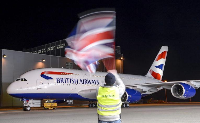 British Airways vil bestille