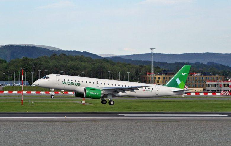 Widerøe leaser en fjerde Embraer