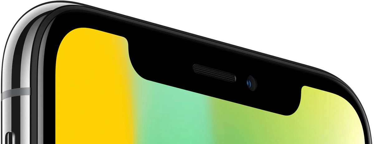 iPhone X sensor notch