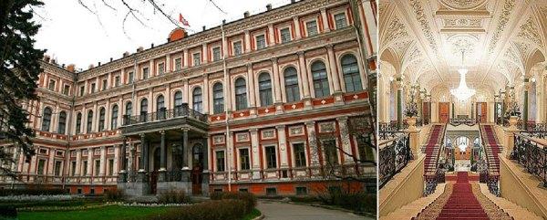 Show de folklore ruso en el palacio Nikolaevski de San ...