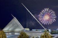 Fireworks, Milwaukee Art Museum