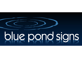 BLUE POND SIGNS