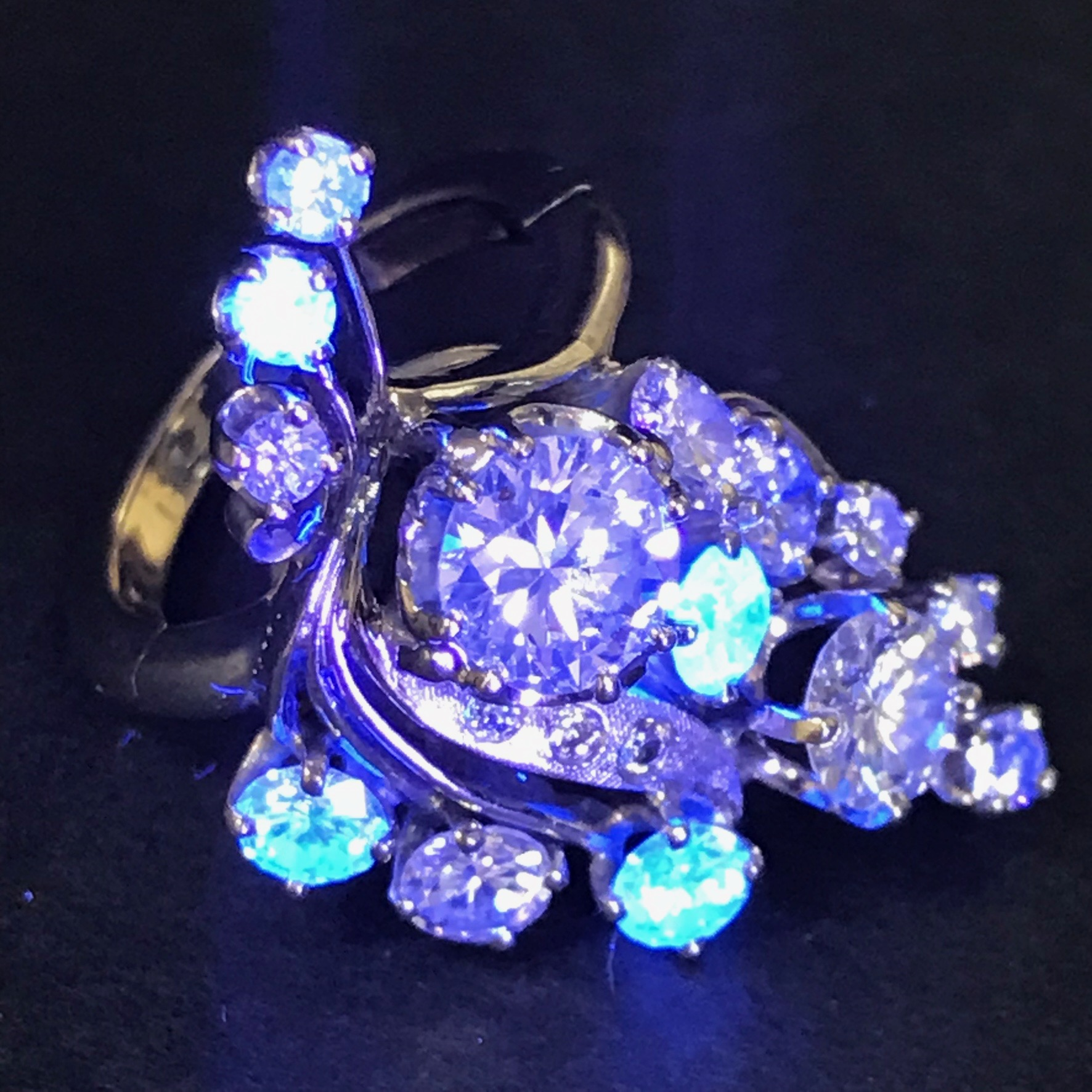 What's up with Fluorescent Diamonds?