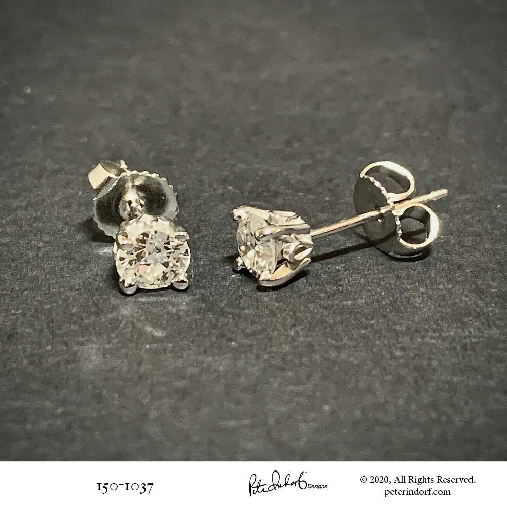 Unusual Diamond Studs