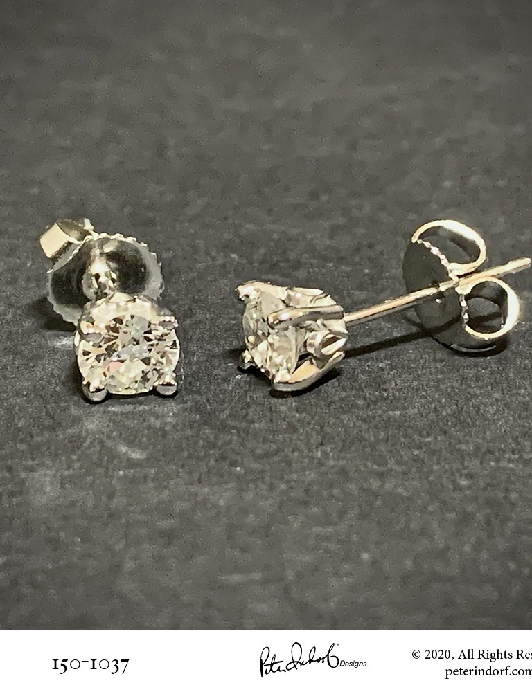 Unusual Diamond Studs