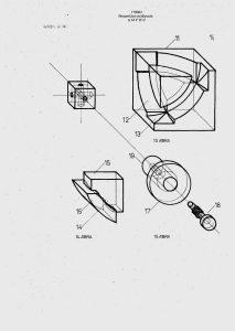 """Drawings from Hungarian patent № 170062, entitled """"Térbeli logikai játék"""" (4/4)."""