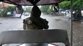 Floods after 2 hours rain