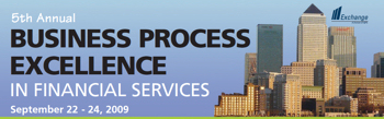 Business Process Excellenece in Financial Services
