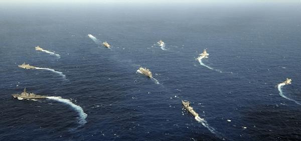 Fleet manoeuvres