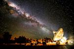 Radio telescope Milky Way
