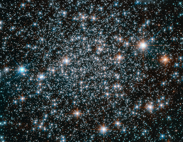 Hubble image of a star field [see Acknowledgements for Image Credit]