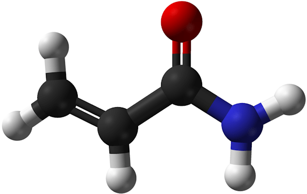 Acrylamide [borrowed from Wikipedia]