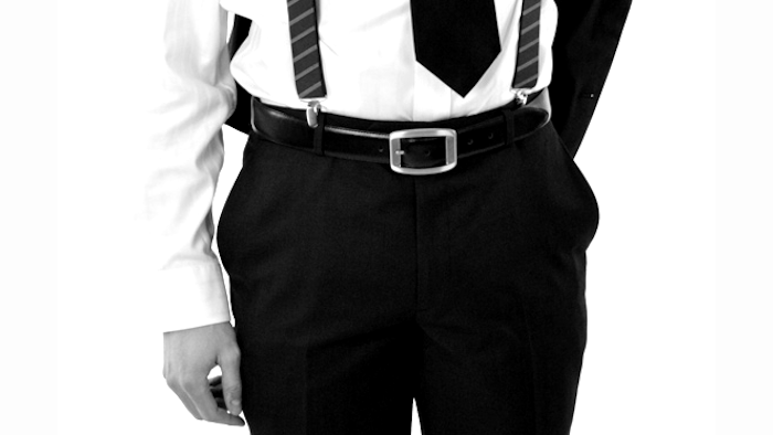 Belt and Braces [or suspenders if you are from the US, which has quite a different connotation in the UK!]