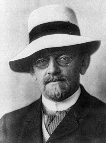 David Hilbert [see Acknowledgements for Image Credit]
